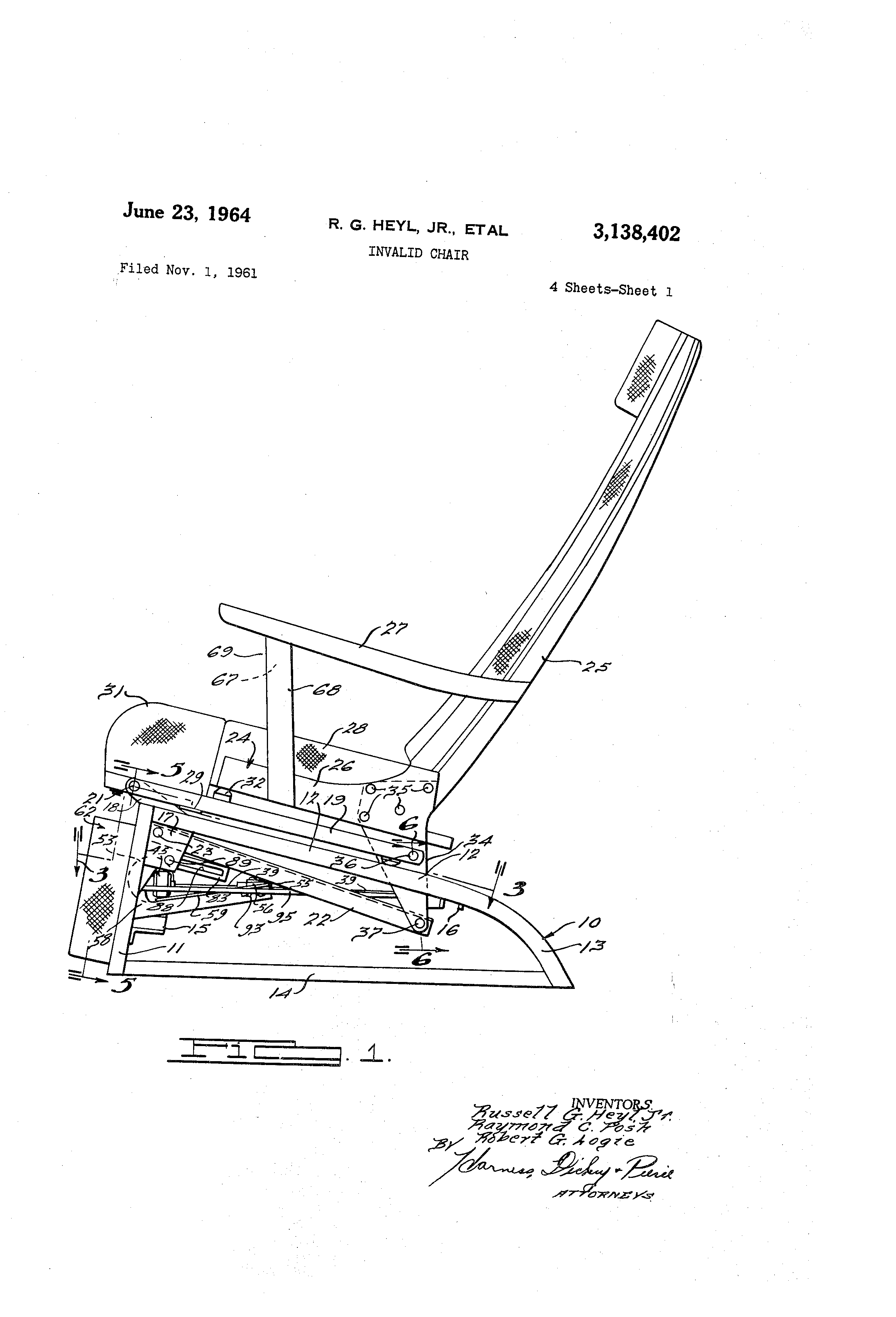 lift chair mechanism