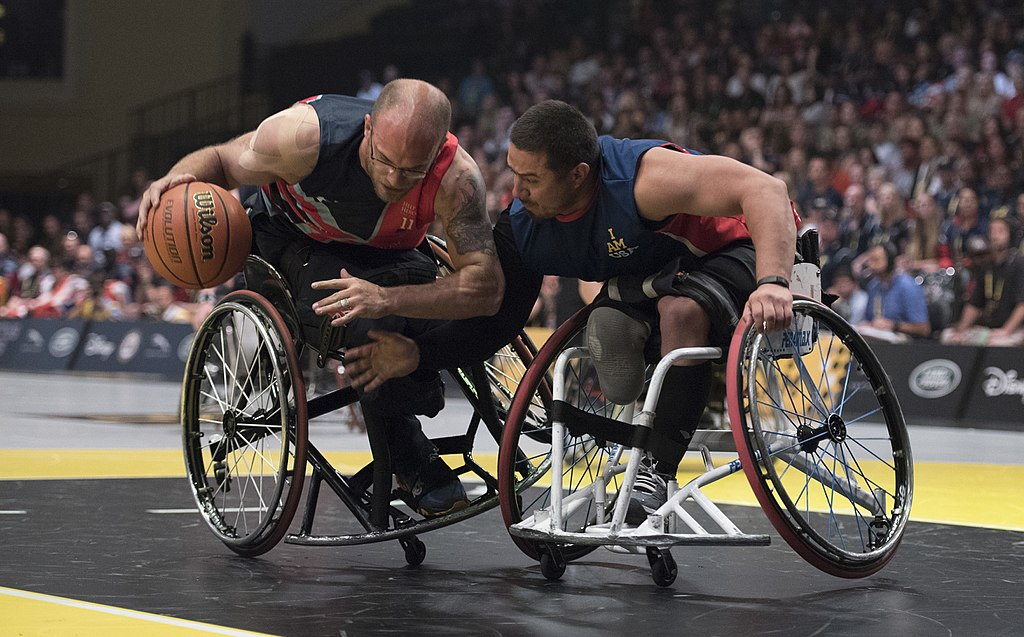 wheelchair basketball essay Wheelchair basketball is an intermittent activity demanding simultaneously several skills, for wheelchair manoeuvring (ie, propulsion, starting and stopping and changing direction of the wheelchair) and ball handling (ie, shooting, passing, dribbling or rebounding).